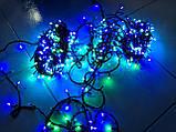 """Светодиодная линейная гирлянда  """"Нить"""" разноцветная на 1000 LED 70 метров!!, 8 режимов свечения, фото 4"""