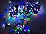 """Светодиодная линейная гирлянда  """"Нить"""" разноцветная на 1000 LED 70 метров!!, 8 режимов свечения, фото 7"""