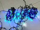"""Светодиодная линейная гирлянда  """"Нить"""" разноцветная на 1000 LED 70 метров!!, 8 режимов свечения, фото 8"""