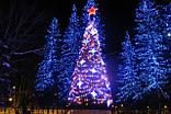 """Светодиодная линейная гирлянда  """"Нить"""" разноцветная на 1000 LED 70 метров!!, 8 режимов свечения, фото 2"""
