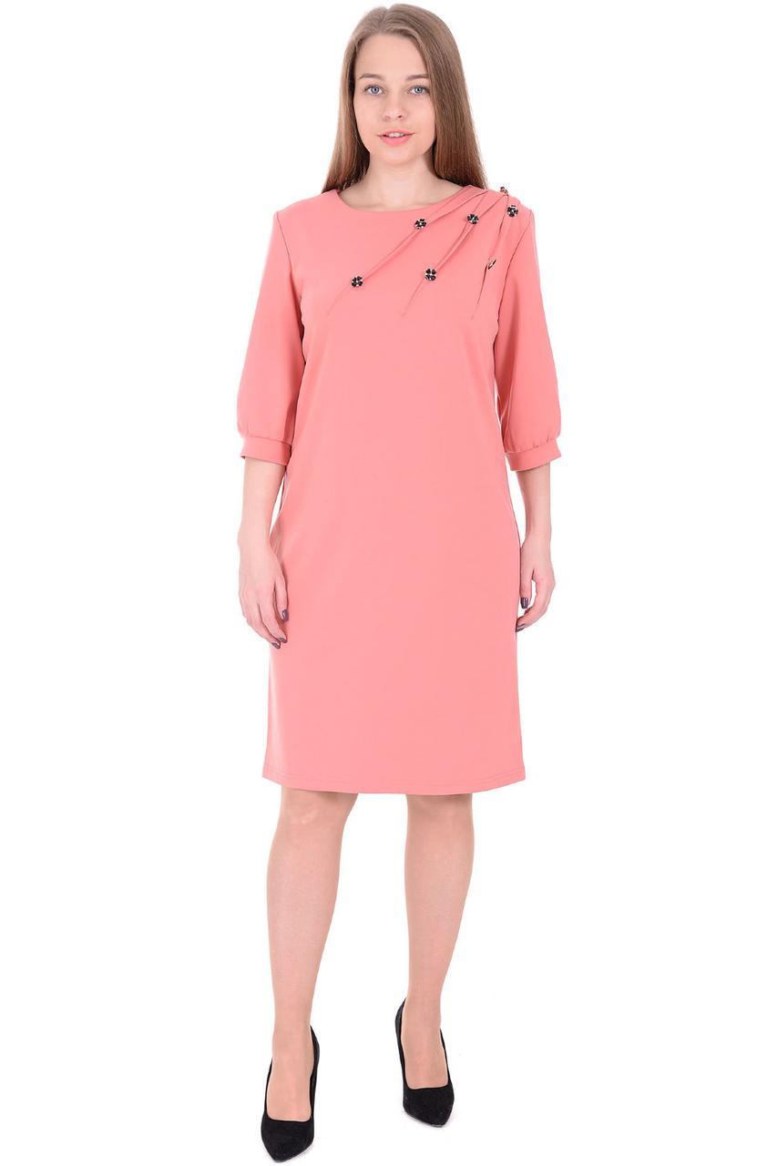 9a6e7ae5b7f Коктейльное платье прямого фасона с украшением от оптово-розничного ...