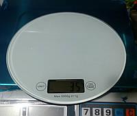 Весы кухонные, каленное стекло, жк дисплей