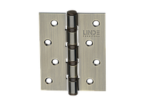 Петля для дверей стальная универсальная Артикул: H-100 Цвет отделки: AB - старая бронза