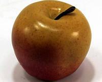 Яблоко декоративное 972311 (8см) желто-красное