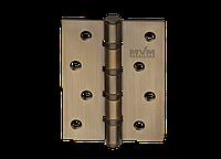 Петля для дверей стальная универсальная Артикул: H-100 Цвет отделки: MACC - матовая бронза