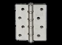 Петля для дверей стальная универсальная Артикул: H-100 Цвет отделки: SN - матовый никель