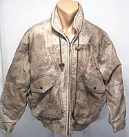 Куртка кожаная, винтажная Milan Leather, L, Отл сост!