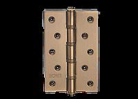 Петля для дверей стальная универсальная Артикул: H-120 Цвет отделки: MACC - матовая бронза