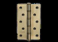 Петля для дверей стальная универсальная Артикул: H-120 Цвет отделки: AB - старая бронза
