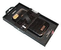 Накладка кожаная для iPhone 7 \ 7s Plus, Remax Maso, Black, Крокодил