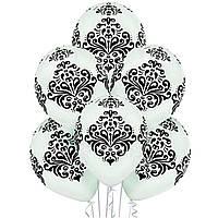 """Воздушные шары Дамаск 12"""" (35 см)"""