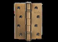 Петля для дверей стальная универсальная Артикул: HE-100 Цвет отделки: PCF - полированная бронза