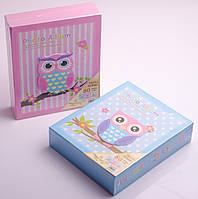 Фотоальбом детский в коробке: 80 фото, 10х15 см, в ассортименте