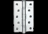 Петля для дверей стальная универсальная разборная Артикул: HE-120 Цвет отделки: CP - полированный хром