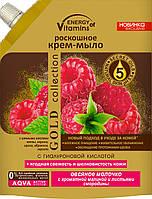 Роскошное крем-мыло Вкусные Секреты Duo-Pack Овсяное молочко с ароматной малиной и листьями смородины, 450 мл(3350)