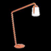 Стойка+садова лампа BALAD 38см , mix color