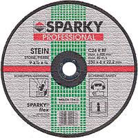 Акс.инстр Sparky Диск шлифовальный по камню C 24 R, 230мм.