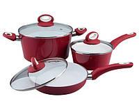Набор посуды Vinzer COLORIT 6 предметов, фото 1
