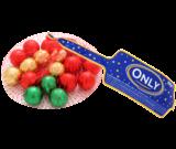 Шоколад молочный Шарики  Only  Австрия 100г