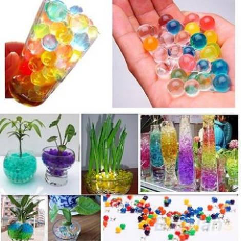 Гидрогель для цветов декоративный