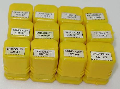 ER 16. Комплект из 12 цанг. Зажимные цанги , фото 2