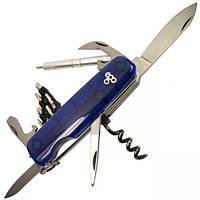 Нож швейцарский Ego tools IT.01 синий с набором бит