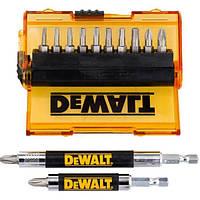 Акс.инстр DeWALT Набор DT71570 бит, магнит. держателей, 14 предм.