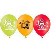 """Воздушные шары  Веселые пираты 10,5"""" (27 см), 50 шт/уп"""