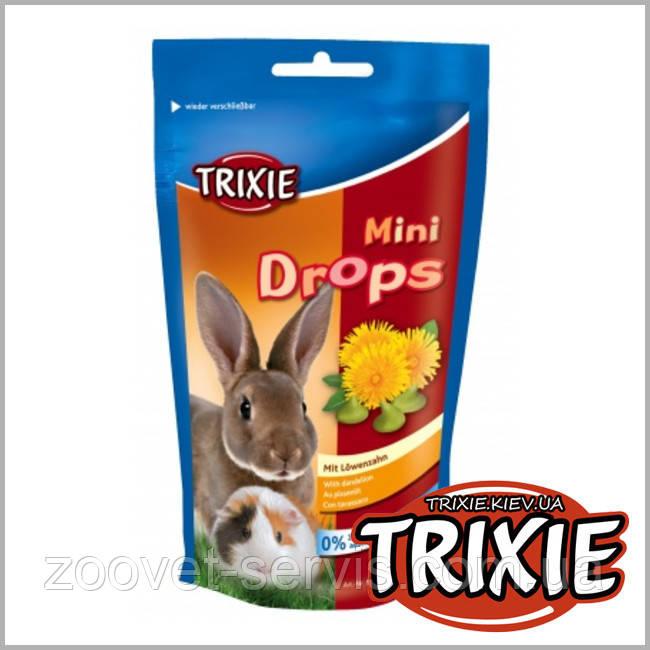 Лакомство для грызунов TRIXIE - Mini DropsВкус: одуванчик,75 г.