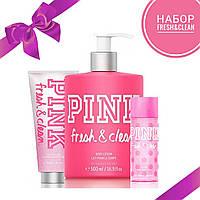 Подарочный набор для тела PINK от Victoria's Secret Fresh&Clean
