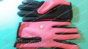 Женские термо-перчатки Wind Stopper теплые воздухонепронецаимые, реагирует на любые типы сенсорных дисплеев
