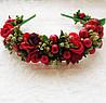 Ободок Красотка (новая) - цветы ручная робота