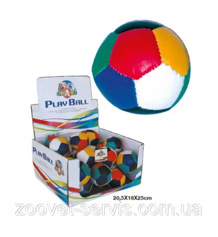 Игрушка для кошекМячмягкийцветной , фото 2