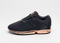 Женские  кроссовки Adidas ZX Flux GOLD