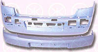 Бампер передний, грунтованный, без отверстиями для противотуманной фар 01 06- Рено Меган RENAULT MEGANE 9.02-10.08 6041906