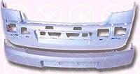 Бампер передний, черный, без отверстий для противоиуманных фар 01 06- Рено Меган RENAULT MEGANE 9.02-10.08 6041905