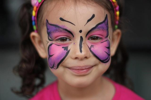 Аквагрим, карандаши и краски для лица