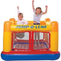 Надувной детский игровой центр - батут Intex