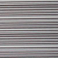 Рулонные шторы Ткань Джут Бело-коричневый WZ-313-15