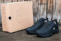 Мужские зимние кроссовки Timberland (Тимберленд) черные