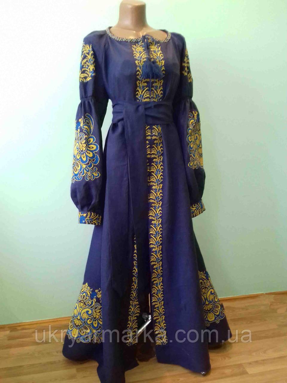 Шикарне плаття в стилі бохо