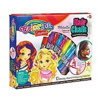Краска для волос детская временная подарочный набор