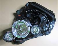 Аккумуляторный налобный фонарь Police BL RJ- 3000
