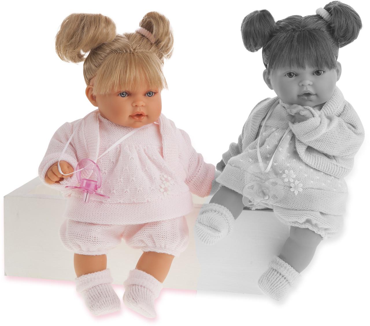 Antonio Juan, кукла Kika Dos Coletas blond, 27 см