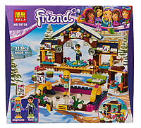 Конструктор Bela Friends / Подружки 10730 Горнолыжный курорт: каток (аналог Lego Friends 41322)