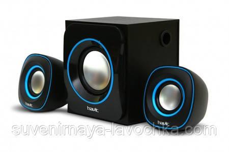 Акустические колонки Havit HV-SK450 USB Black+blue