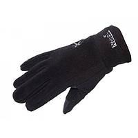 Перчатки женские флисовые с утеплителем Norfin Women Fleece Black