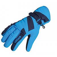 Перчатки женские дышащие с утеплителем и мембраной Norfin Women Windstop Blue