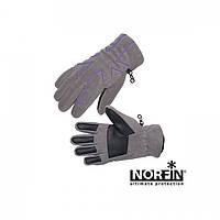 Перчатки женские флисовые с утеплителем Norfin Women Violet