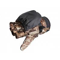 Перчатки-варежки ветрозащитные с отстегом Norfin Hunting (Passion)